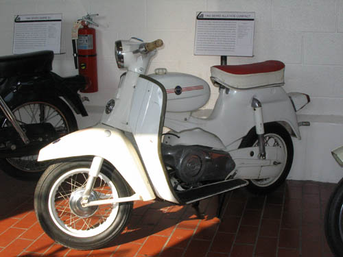 Sears Allstate Compact Puch Scooter 1966 Lane Motor Museum