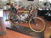 Columbia Bike-1896  with Shaw Motor Kit -1916